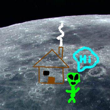 Proof of aliens on the moon