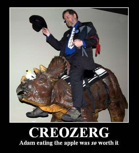 Atheist Motivational Poster Creozerg PZ Myers